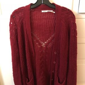 Knit Urban Outfitters cardigan